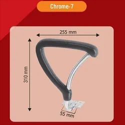 Chrome 7 Classic Chair Handle