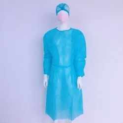 Disposable Isolation Gown (Ready Stock)