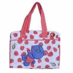 Strawberry Print Female Baby Daper Bag