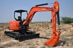 Hyundai New Compact Construction Excavator 27, Maximum Bucket Capacity: 0.2 cum