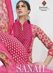 Tanishk Fashion Sanah Vol-22 Lawn Cotton Dress Material Catalog Collection