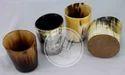 Handmade Real Horn Shot Glasses