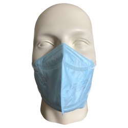 Non Woven Respiratory FFP1 Blue Particulate Respirator Mask, For Industrial Safety, Large