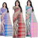 Cotton Linen Handloom Saree