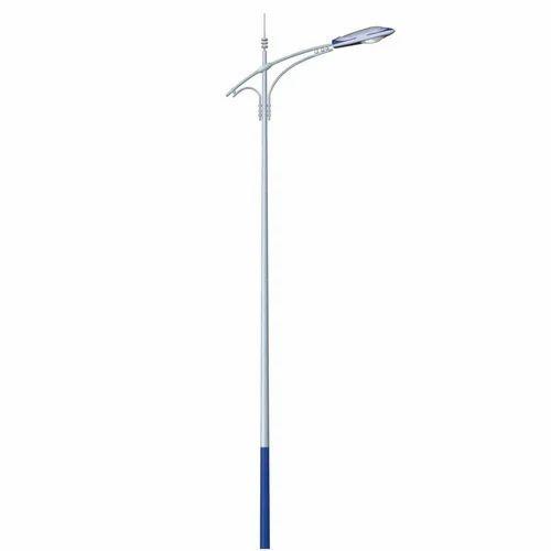 Aluminium Single Arm Single Arm Street Light Pole Rs 4000