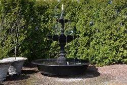 Fiber, Rock Multicolor Antique Fountain