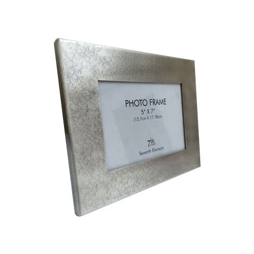 Antique Silver Plated Photo Frame