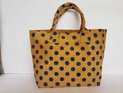100 % Cotton Canvas Shoulder Bag Handmade bags, Size: 14 X 22 Inches