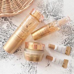 Brilliant Gold Skin Care Cosmetics
