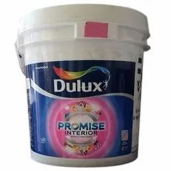 Dulux Promise Interior Acrylic Water Based Emulsion Paint, Packaging Type: Bucket