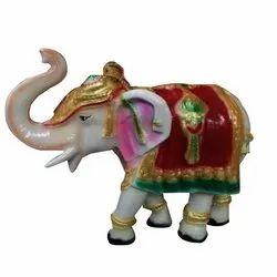 Elephant Fiber Statue, For Decoration