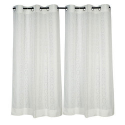 Plain Cotton Curtain, Size: 7*3 Feet