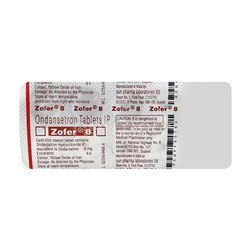 Ondansetron Zofer 8mg Tablet, Sun Pharma, Prescription