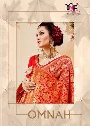 Omnah Vol 1 Banarasi Art Silk Saree