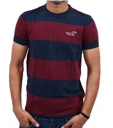 4e172a33 Casual Wear Plain Hollister Men's Crew Neck T-Shirt Red, Rs 2221 ...