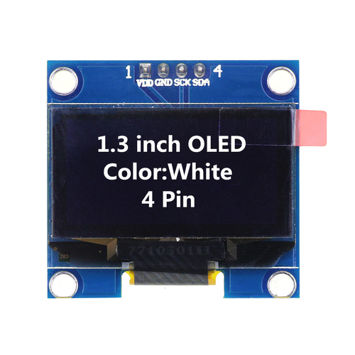 Display - 12864 128X64 OLED 0 96 inches 6 Pin Spi White