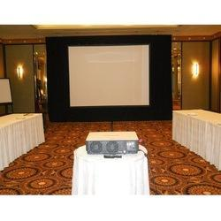 Projector and Portable Screen Rental Services