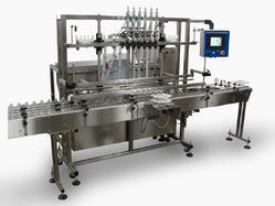 Liquid / Viscous Liquid Servo Piston Filler