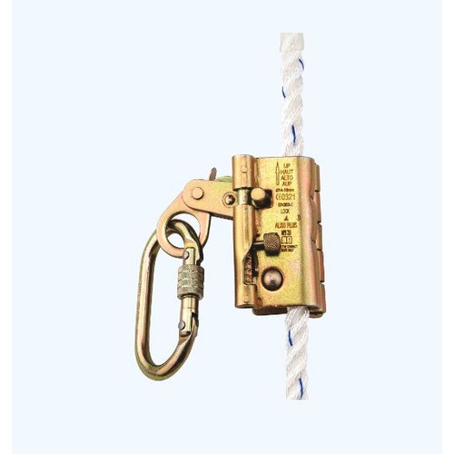 Alko Plus Rope Grab Fall Arrester with Karabiner, Rs 2100 /piece | ID:  19331910833