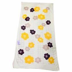 Cotton Printed Flower Print Bath Towel, For Home, Size: 28-100 Cm