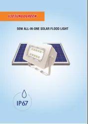 50W Solar Flood Light