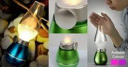 Plastic Adjustable On/Off Night Rechargeable LED Retro Blow Sensor Lamp