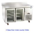 Two Glass Door Under Counter Chiller
