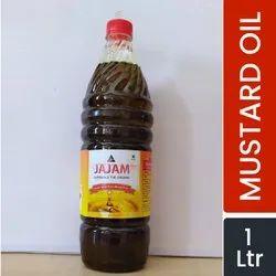 JAJAM Kachi Ghani Pure Mustard Oil 1 Ltr