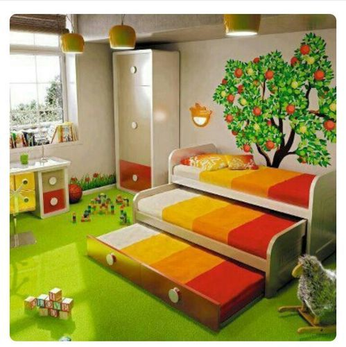 Kids Room Bed Set