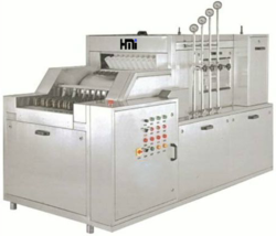 Automatic High Speed Linear Vial Washing Machine 240 VPM