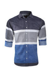 Men Striped Casual Shirt