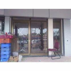 Aluminum Shop Door