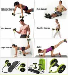 KD Slim Flex Multilevel Double Wheeled Rope Exerciser