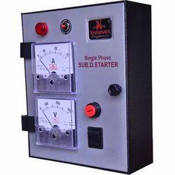 Electronic Motor Starter Panel