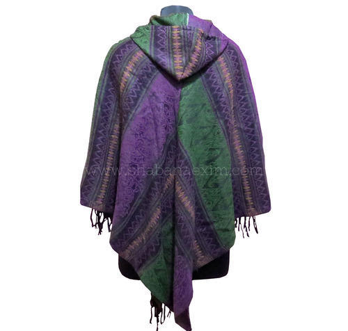 Wool Hippie Poncho Sweater Uk Clothing At Rs 300 Piece Woolen