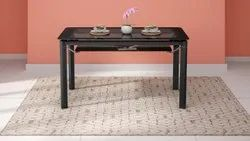 6 Seater Dining Table - Brown