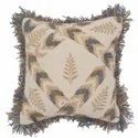 Embroidered Decorative Cotton Cushion Cover