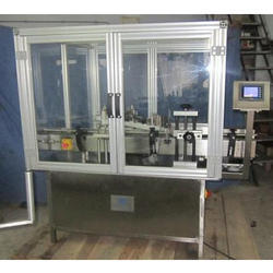 Labeling Machine With Enclosure