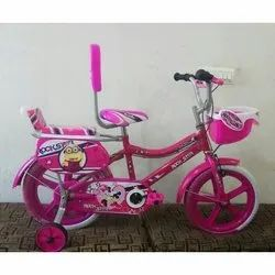 Rockstar 12 Inch Kids Pink Bicycle