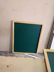 Pin Up Board With Wooden Frame