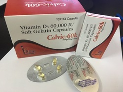 Cholecalciferol 60000 I. U Softgel Capsule