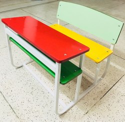 Dual Desk colourful model die bend frame
