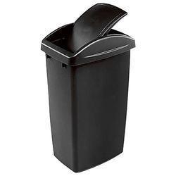 Black Plastic Garbage Bin