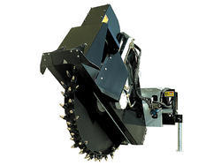 Wheel Saw Skid Steers Attachment