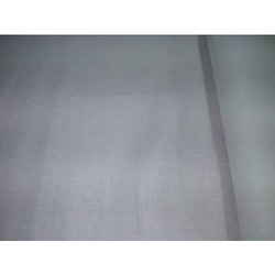 Grey Plain Linen Self Design Pant Fabric
