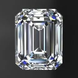 Emerald Cut AAA Quality Excellent Cut Lab Grown Diamond