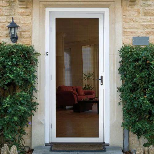 Aluminium Hinged Entry Door At Rs 500 Square Feet Entry Door Id