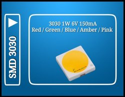 3030 1 Watt Colour LED
