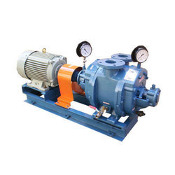 Cast Iron Single stage Water Ring Vacuum Pump, 3 To 30 Hp, Capacity: 7 To 60 Lpm