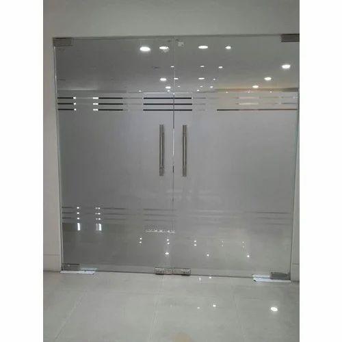 glass door. Toughened Glass Door O
